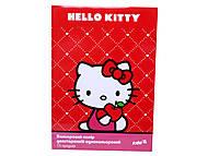 Бумага цветная двусторонняя Hello Kitty, HK13-250K, фото