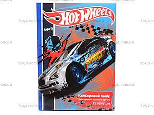 Бумага цветная двустороняя Hot Wheels, HW14-250K