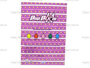 Бумага цветная неоновая, 10 листов, PP13-252K, игрушки