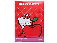 Бумага цветная неоновая Hello Kitty, HK13-252K, фото