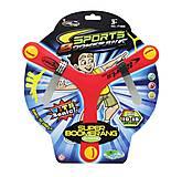 "Бумеранг ""Super Boomerang"" красный KingSport (F1806), F1806, toys"