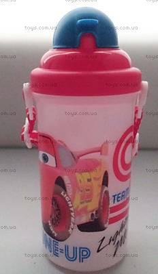 Детская бутылка для воды «Машинки», 704154, купить