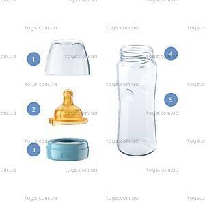 Бутылочка пластиковая для кормления Well-Being, 250 мл, соска латекс, 70722.10.04, купить