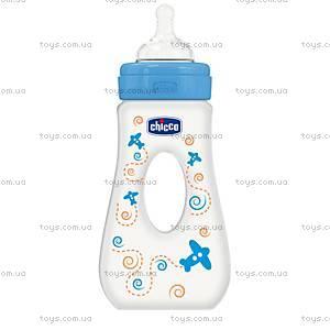 Бутылочка пластиковая Travelling 240 мл, соска силиконовая, 75725.21