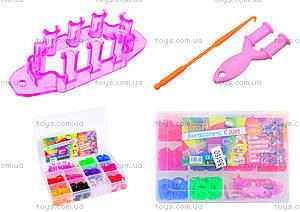 Детский набор для плетения браслетов Loom Bands, 004223