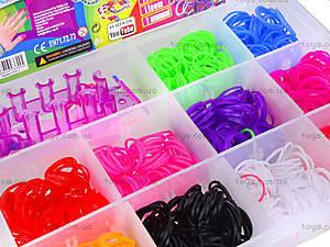 Детский набор для плетения браслетов Loom Bands, 004223, отзывы