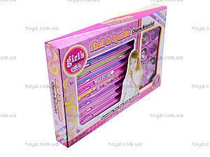 Детский набор браслетов Shell&Sparkle, MBK215, игрушки
