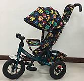 Бирюзовый велосипед TILLY Trike, T-363-4БИРЮЗОВЫЙ