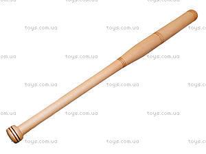 Деревянная бита, 80 см, , купить