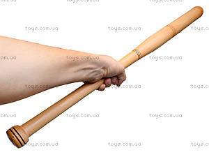 Деревянная бита, 80 см, , фото