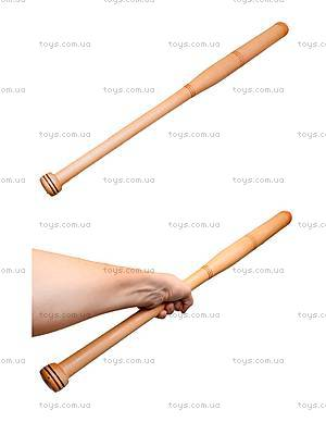 Деревянная бита, 80 см,
