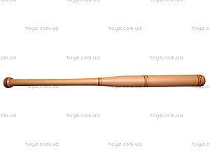 Деревянная бита, 80 см, , отзывы
