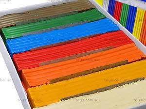 Детский пластилин «Яркие пятна», 7 цветов, Ц259010У, фото