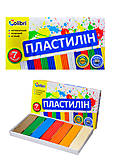 Детский пластилин «Яркие пятна», 7 цветов, Ц259010У