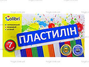 Детский пластилин «Яркие пятна», 7 цветов, Ц259010У, отзывы