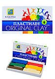 Пластилин «Луч» классика, 6 цветов, Ц259012У, отзывы