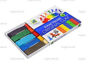 Пластилин для детей «Классика», 10 цветов, Ц259014У, цена