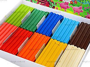 Пластилин для детей «Моя страна», 10 цветов, Ц259016У, купить
