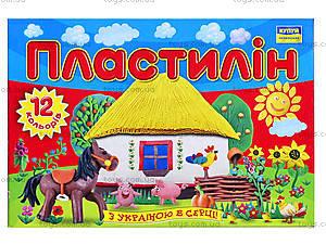 Пластилин «Моя страна», 12 цветов, Ц259017У, отзывы