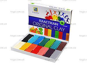 Пластилин для детей «Классика», 14 цветов, Ц259022У, купить