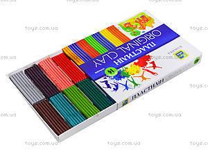 Пластилин для детей «Классика», 14 цветов, Ц259022У, цена