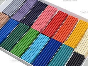 Пластилин Луч Классика, 16 цветов, Ц259023У, фото