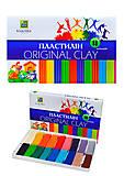 Детский пластилин «Классика», 18 цветов, Ц259024У, отзывы