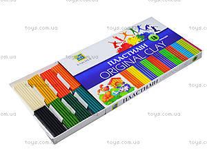 Детский пластилин «Классика», 18 цветов, Ц259024У, цена