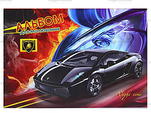 Альбом для рисования «Супер-авто», 20 листов, Ц260016У, отзывы