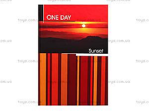 Блокнот А5 с твердой обложкой One day, 80 листов, Ц262022У, отзывы