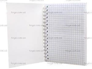 Блокнот А6 в клетку, 50 листов, Ц355021У, фото