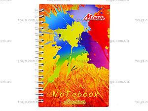 Блокнот А6 «Яркие цвета», 100 листов, Ц355022У, отзывы