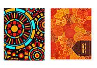 Блокнот для заметок «Геометрические орнаменты», Ц355023У