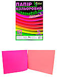 Цветная бумага двойка «Неон», Ц380003У