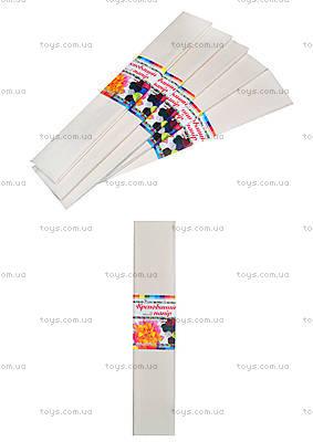 Белая крепированная бумага, Ц380007У