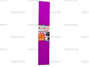 Цветная креповая бумага, бордовая, Ц380007У, купить