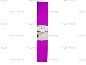 Цветная креповая бумага, бордовая, Ц380007У, фото