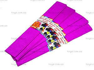 Цветная креповая бумага, бордовая, Ц380007У, отзывы
