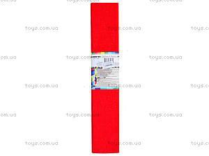 Цветная креповая бумага, красная, Ц380007У, фото