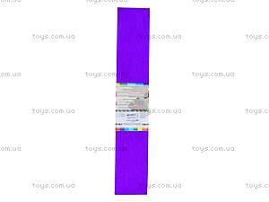 Цветная крепированная бумага, фиолетовая, Ц380007У, фото