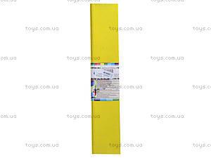 Цветная крепированная бумага, желтая, Ц380007У, отзывы
