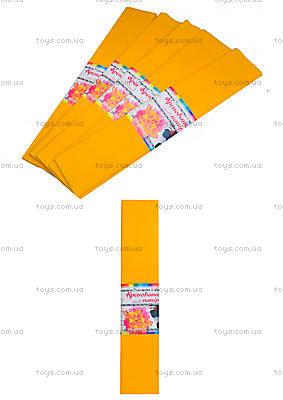 Цветная крепированная бумага, песочный цвет, Ц380007У