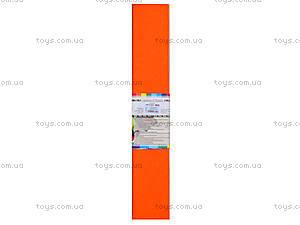 Цветная креповая бумага, оранжевый, Ц380007У, фото