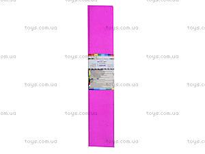 Цветная крепированная бумага, розовая, Ц380007У, фото