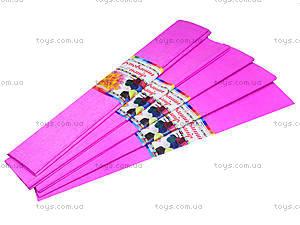 Цветная крепированная бумага, розовая, Ц380007У, отзывы