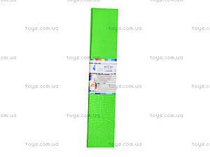 Цветная креповая бумага, салатовая, Ц380007У, фото