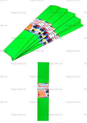 Цветная креповая бумага, салатовая, Ц380007У