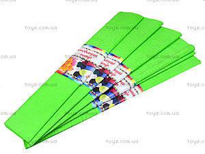 Цветная креповая бумага, салатовая, Ц380007У, отзывы
