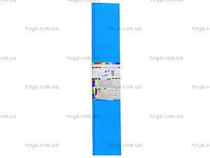 Цветная крепированная бумага, светло-голубая, Ц380007У, фото