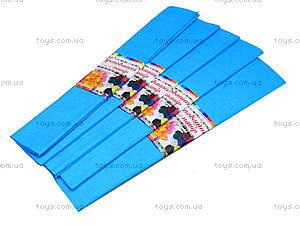 Цветная крепированная бумага, светло-голубая, Ц380007У, отзывы